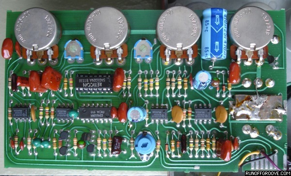 Ross Flanger circuit board component side